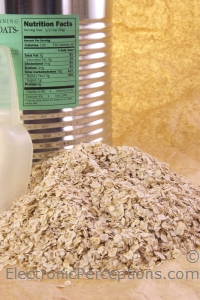 basics Stock Photo: Oat Nutrition
