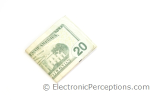 dollars Stock Photo: Folded Cash