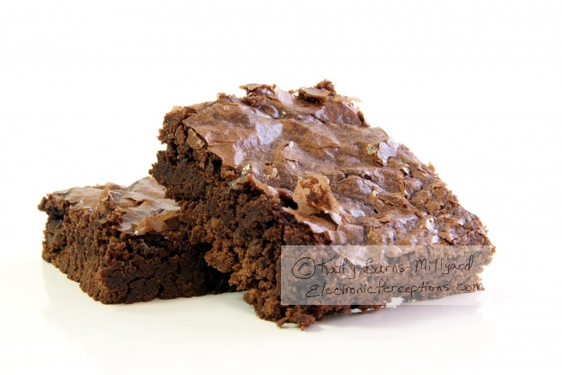 Stock Photo: Chocolate Brownies - by Kathy Burns-Millyard
