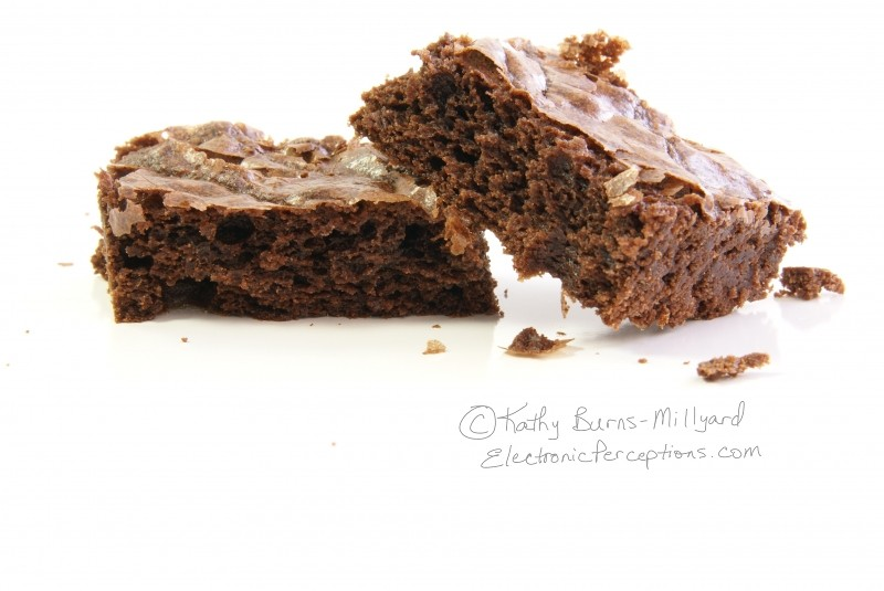 Stock Photo: Moist Brownie - by Kathy Burns-Millyard