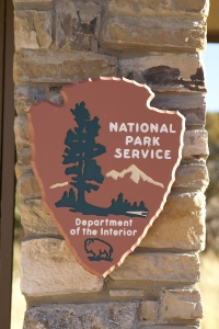 Stock Photo: National Park Sign - by Kathy Burns-Millyard