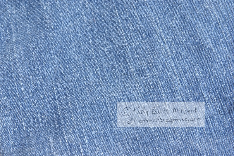 Stock Photo: Denim Background - by Kathy Burns-Millyard