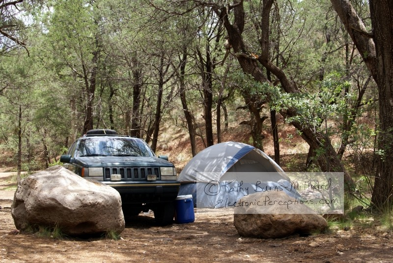Stock Photo: Remote Camping - by Kathy Burns-Millyard