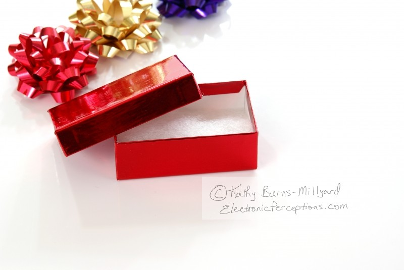 Stock Photo: Christmas packages - by Kathy Burns-Millyard