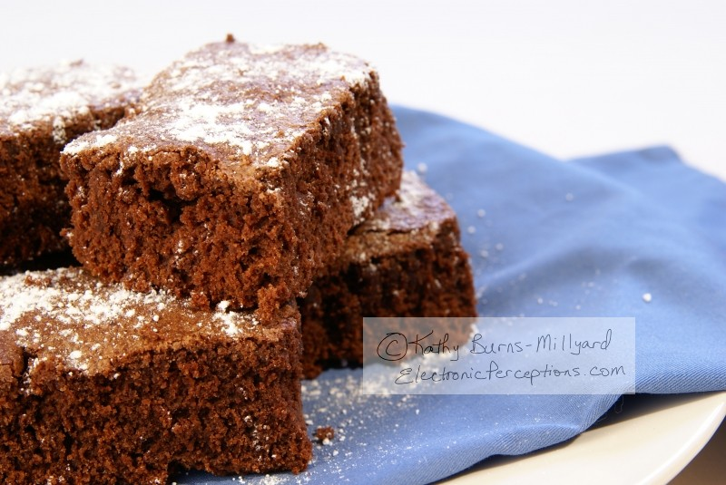 cooking Stock Photo: Fudge Brownies