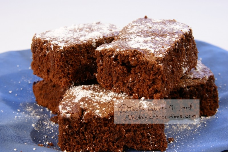 cake Stock Photo: Fudge Brownies