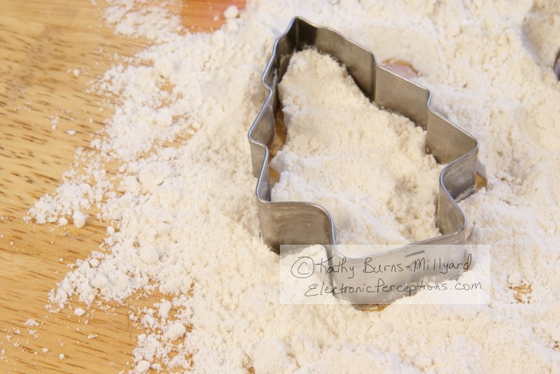 flour Stock Photo: Holiday Baking