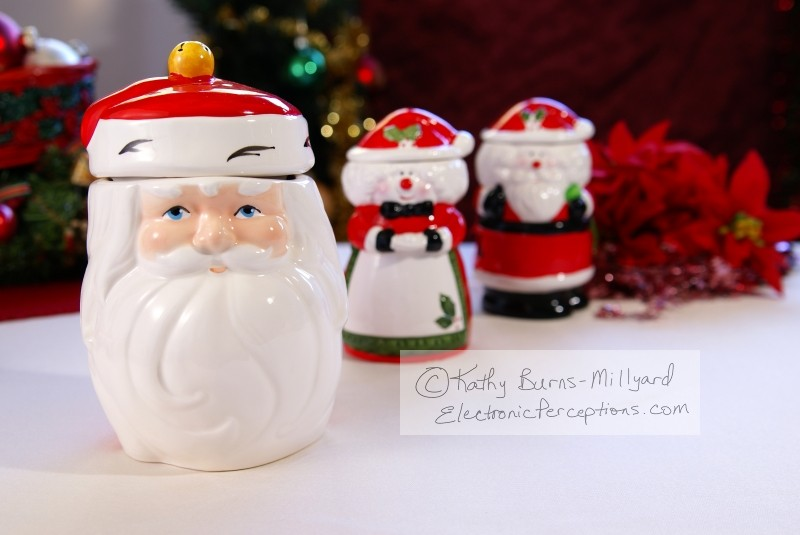 Stock Photo: Cookie Jars - by Kathy Burns-Millyard