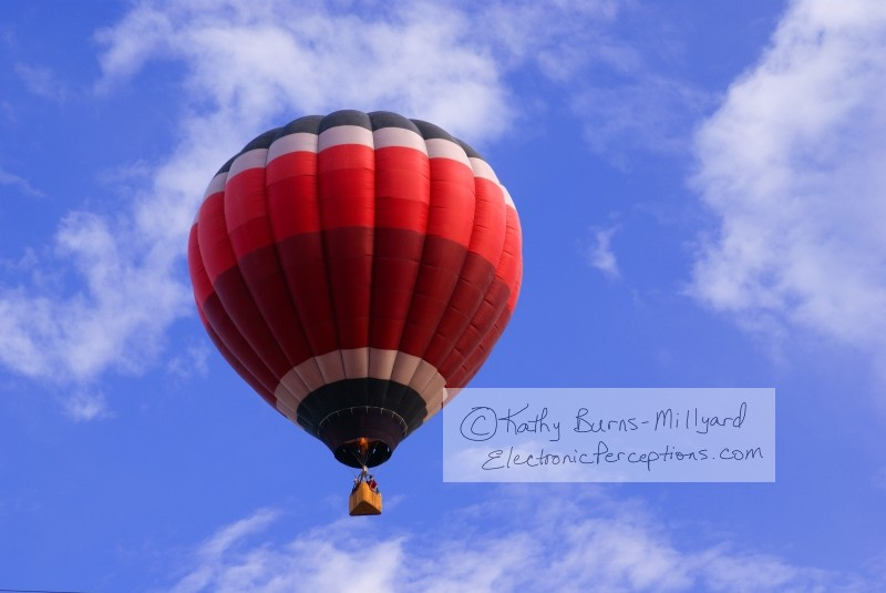 fire Stock Photo: Hot Air Balloon