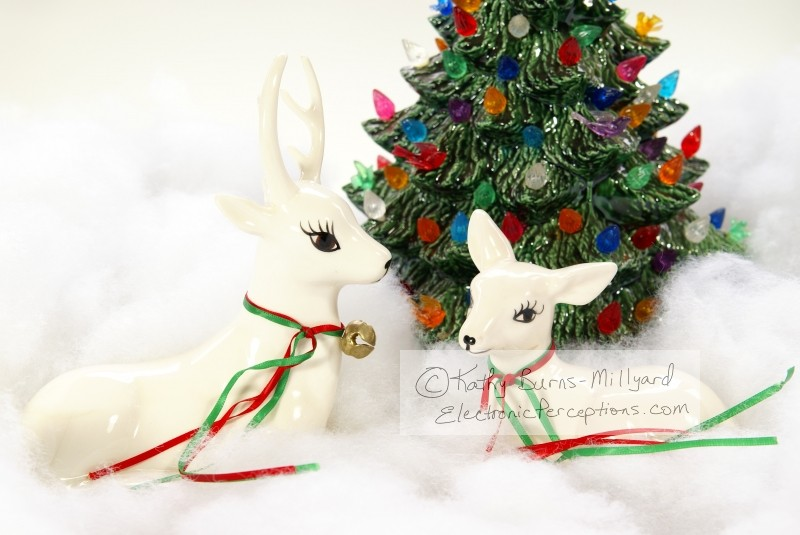 ceramic Stock Photo: Christmas Deer