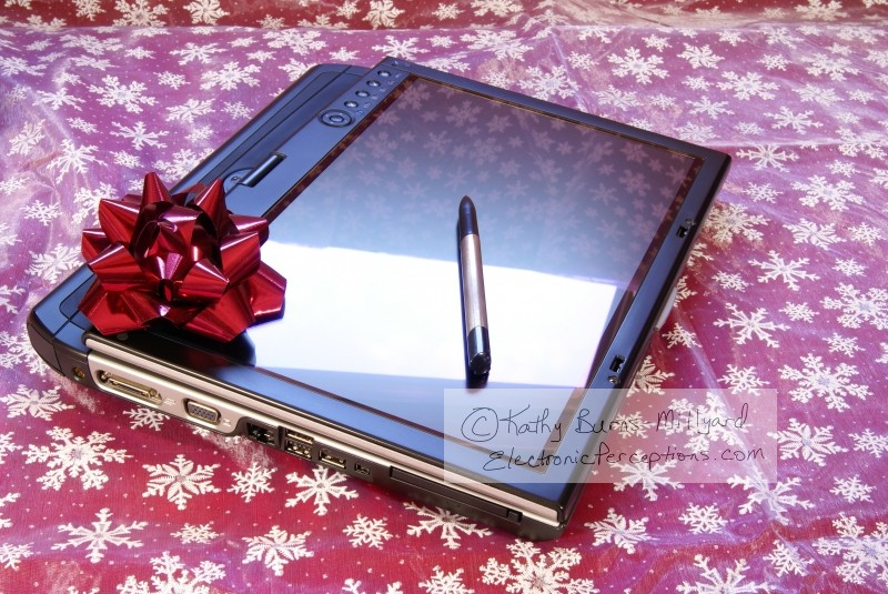 bow Stock Photo: Tablet PC