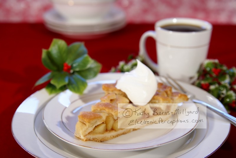 drink Stock Photo: Apple Pie