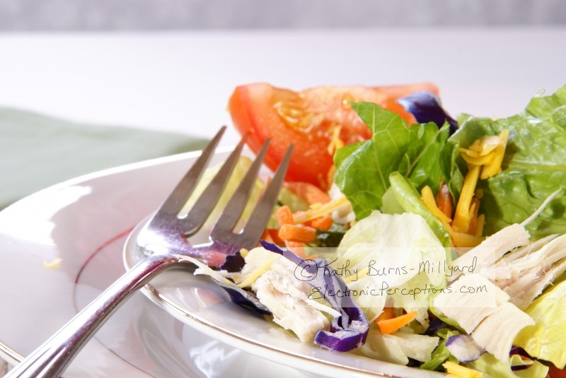 red Stock Photo: Salad