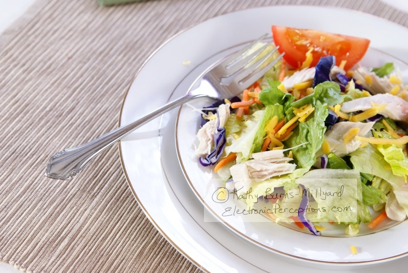 supper Stock Photo: Salad