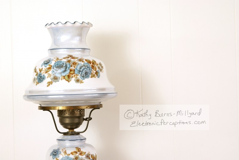 elegant Stock Photo: Hurricane Lamp