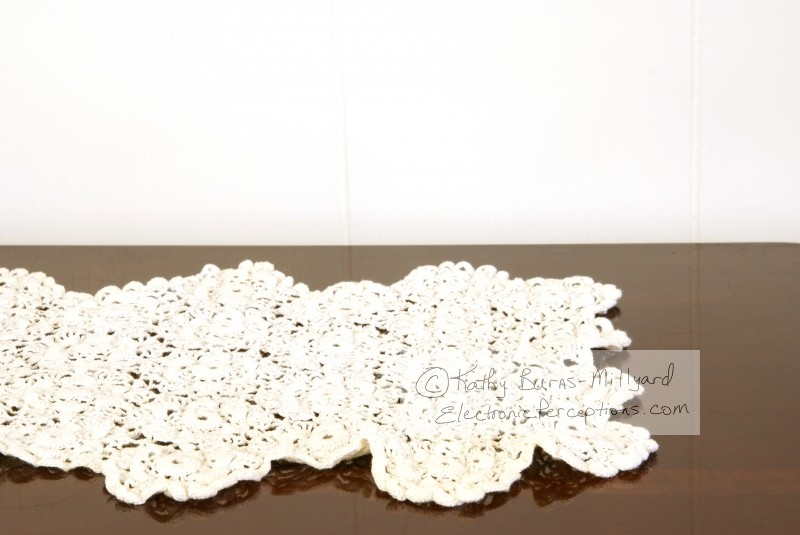 decorative Stock Photo: Doily on Table
