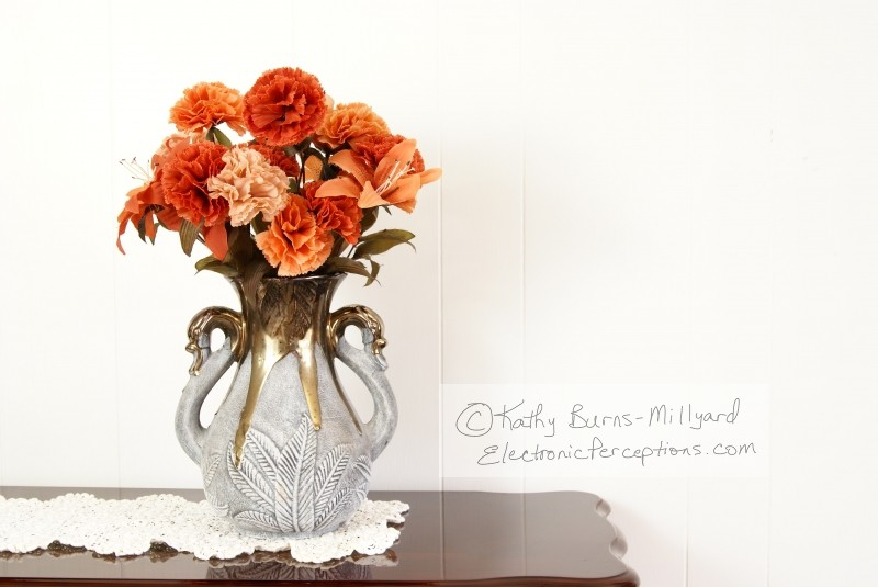 elegant Stock Photo: Flower Vase