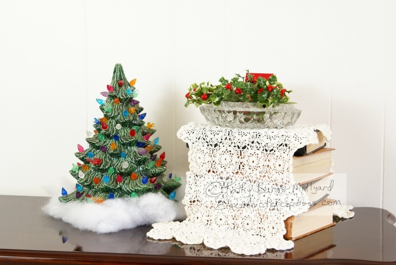table Stock Photo: Christmas Decor