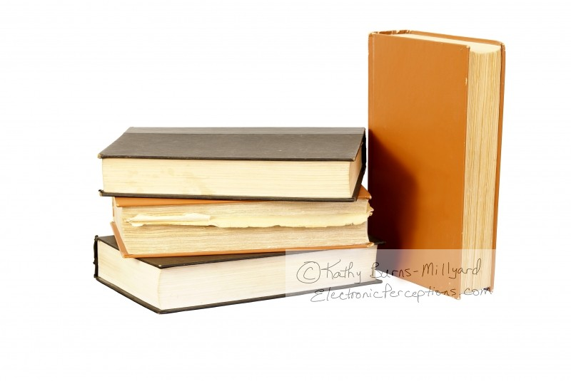 antique Stock Photo: Old Books