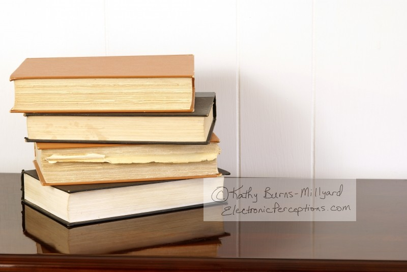 """home decor"" Stock Photo: Old Books"