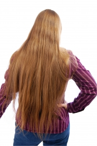 Stock Photo Thumbnail: Extra Long Hair