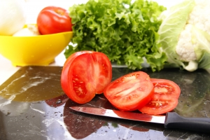 Royalty Free Image: Sliced Tomatoes