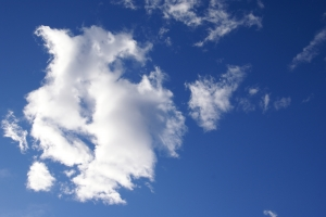 Royalty Free Image: Blue Sky & Clouds