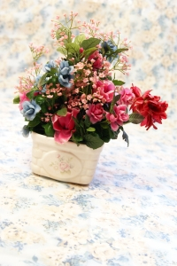 Royalty Free Image: Silk Flowers