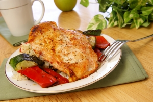 Stock Photo Thumbnail: Broiled Pepper Chicken