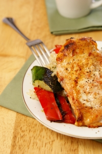 Royalty Free Image: Broiled Pepper Chicken