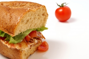 Stock Photo Thumbnail: Bacon Sandwich