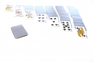 Royalty Free Image: Solitaire Game