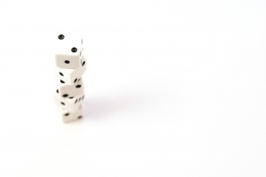 Royalty Free Image: Stack of Dice