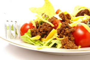 Royalty Free Image: Taco Salad Close Up