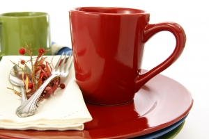 Stock Photo Thumbnail: Red Coffee Mug