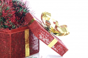Royalty Free Image: Christmas Box
