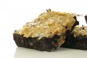 Stock Photo Thumbnail: Coconut Brownie
