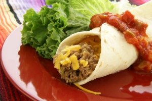 Royalty Free Image: Mexican Burrito