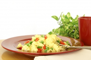 Stock Photo Thumbnail: Fluffy Scrambled Eggs