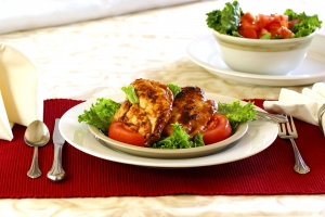 Royalty Free Image: Barbecue Chicken