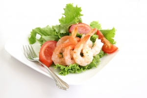 Royalty Free Image: Shrimp Salad