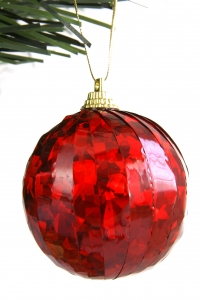 Royalty Free Image: Red Christmas Ball
