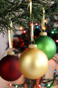 Stock Photo Thumbnail: Christmas Ornaments