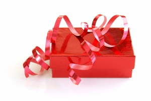 Royalty Free Image: Red Gift Box