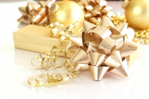 Royalty Free Image: Gold Decorations