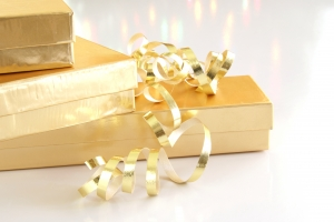 Royalty Free Image: Gold Gifts