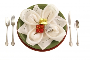 Stock Photo Thumbnail: Holiday Table Decor