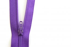 Stock Photo Thumbnail: Purple Zipper