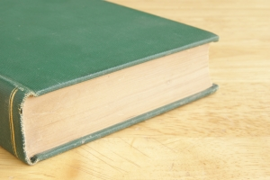 Stock Photo Thumbnail: Vintage Green Book