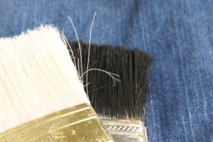 Stock Photo Thumbnail: Paint Brush Heads